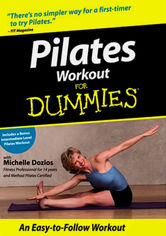Rent Pilates Workout for Dummies on DVD