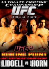 Rent UFC 54: Boiling Point on DVD