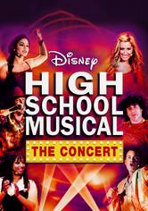 Rent High School Musical: The Concert on DVD