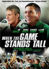 Rent When the Game Stands Tall on DVD