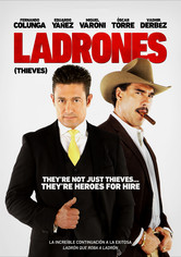 Rent Ladrones on DVD