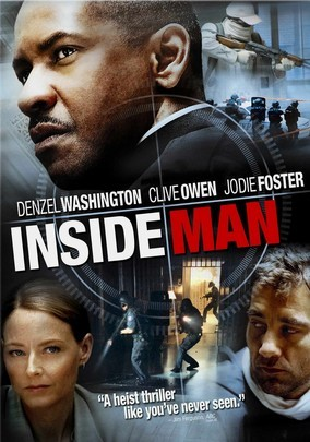 Rent Inside Man on DVD