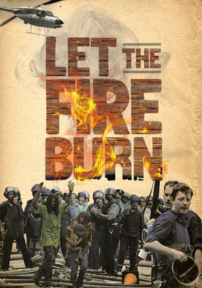 Rent Let the Fire Burn on DVD