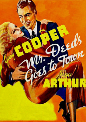 Rent Mr. Deeds Goes to Town on DVD