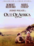 Out of Africa (1985) Box Art