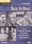 Broadway Theatre Archive: Back to Back