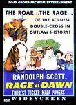 Rage at Dawn (1955) Box Art